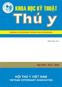 Tạp chí Khoa học kỹ thuật Thú y XXVI số 2 - 2019