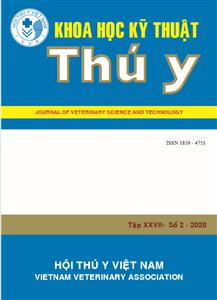 Tạp chí Khoa học kỹ thuật Thú y XXVII số 2 - 2020