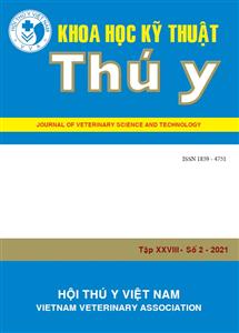 Tạp chí Khoa học kỹ thuật Thú y XXVIII số 2 - 2021