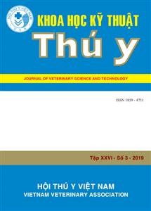 Tạp chí Khoa học kỹ thuật Thú y XXVI số 3 - 2019