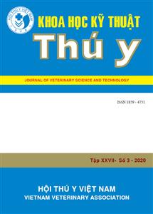 Tạp chí Khoa học kỹ thuật Thú y XXVII số 3 - 2020