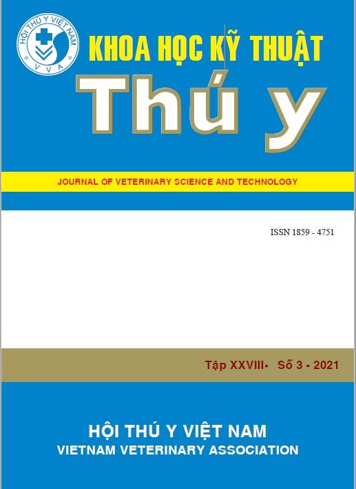 Tạp chí Khoa học kỹ thuật Thú y XXVIII số 3 - 2021