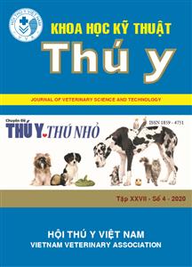 Tạp chí Khoa học kỹ thuật Thú y XXVII số 4 - 2020